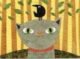 MADISON PARK GREETINGS グリーティングカード サンキューカード <猫×鳥>
