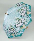 【5月21日から31日まで限定分引きセール!】【ジャンプ傘】ゴッホ ホワイトフラワー