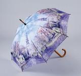 【9月21日から30日まで10%分引きセール!】【ジャンプ傘】モネ 水辺の教会