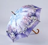 【1月21日から31日まで10%分引きセール!】【ジャンプ傘】モネ 水辺の教会