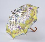 【5月21日から31日まで10%分引きセール!】【ジャンプ傘】クリムト ドナウ川沿