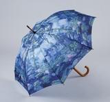【5月21日から31日まで限定分引きセール!】【ジャンプ傘】モネ 睡蓮