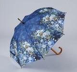【5月21日から31日まで限定分引きセール!】【ジャンプ傘】ルノワール ホワイトフラワー