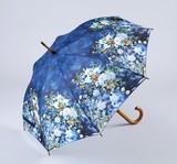 【3月21日から31日まで10%分引きセール!】【ジャンプ傘】ルノワール ホワイトフラワー
