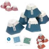 【人気の富士山モチーフ☆お茶と飴セット】お茶と組飴 おみくじ付き