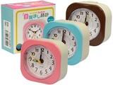 【旅行等のお供に】目覚まし時計 ナチュラル