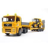 【bruder】PRO SERIES MAN トラック&JCBバックホールランド 模型(プロシリーズ)