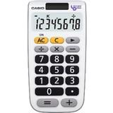 使いやすいシンプル電卓 ユニバーサルデザイン電卓 手帳タイプ<景品・ノベルティ・店舗・雑貨>