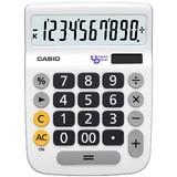 使いやすいシンプル電卓 ユニバーサルデザイン電卓 デスクタイプ<景品・ノベルティ・店舗・雑貨>