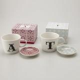 Alphabet Plate Mug