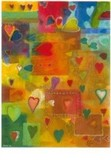 ART UNLIMTED ポストカード Paul Giovanopoulos <ハート>
