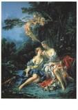 ART UNLIMTED ポストカード Francois Boucher <絵画>
