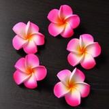 Frangipani Sponge Artificial Flower Pink