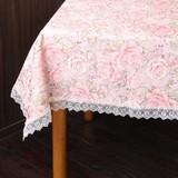 テーブルクロス118×148cm(ピンク)