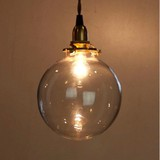 Lamp Glass Round Clear Type