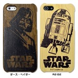 Woodケース iPhone 5s/5 スターウォーズ【iPhone SE/5s/5対応】