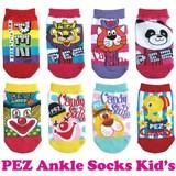 【靴下8種】PEZキッズアンクルソックス/ペッズ/キャンディ/アメリカン雑貨/子ども用/かわいい