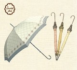 2014 S&S新作 【ジュビア】婦人用雨傘 バイアスフラワープリント