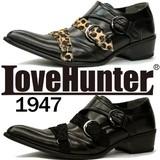 [LOVE HUNTER ラブハンター]お兄系トンガリモンクシューズ 1947<PUカジュアルシューズ>