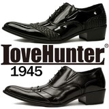 [LOVE HUNTER ラブハンター]お兄系トンガリ シューズ 1945<PUカジュアルシューズ>