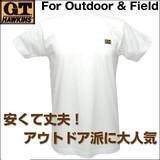 【人気定番】紳士 GTホーキンス 半袖丸首 Tシャツ