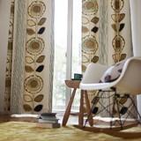 【サンフラワー】ひまわりをモチーフにした遮光カーテン