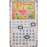 ★大創業祭特価★STARアンティークレプリカ薔薇のカレンダー