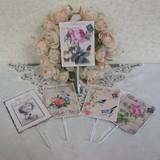 【特価】ヨーロピアン風フック<壁掛け エンジェル 天使 アンティーク調 ローズ 薔薇>