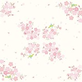 和洋柄ペーパーナプキン 桜とうぐいす 春 インバウンド商品