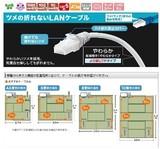 特価!ツメ折れ防止のCAT5e単線LANケーブル  <eco・カテゴリー5e・PC・通信・パソコン・セール>