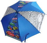 入学準備☆Cars子供傘☆50cm☆ブラック・ネイビー☆長傘☆