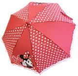 ☆入学準備☆ミニーマウス子供傘☆45cm・50cm☆レッド☆長傘