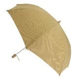 【日本製晴雨兼用】折たたみ傘/三河木綿生地 江戸小紋柄傘
