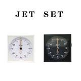 ジェットセット クロック【モダン】【シンプル】【時計】【目覚まし】【インテリア】