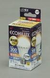 【LED照明 電球】LED電球 小形 調光 電球色相当300lm
