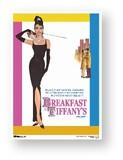 ミニポスPOS-115/「ティファニーで朝食を」オードリーヘップバーン-01/ヴィンテージアートワークシリーズ