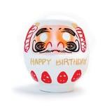 【Nippon souvenir】張子 バースデイダルマ