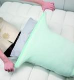 ひんやりパイル編みの枕カバー ひんやり 吸汗性 睡眠