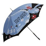 【moomin】【雨傘】長傘 ムーミン全駒柄傘