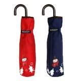 【moomin雨傘】ムーミンミイ柄ミニ傘 折りたたみ傘