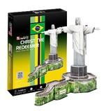3D立体パズル コルコバードのキリスト像 (ブラジル)