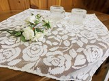 【カントリーローズ】テーブルクロス(日本国内縫製)<花柄・バラ柄>