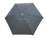ドットリボン折りたたみ傘<ジョリー 雨傘 レイン>03AKS-JY02