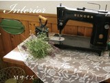 ZAKKA BOOK 掲載商品【ローズウィーク】テーブルクロス(日本国内縫製)<花柄・バラ柄>
