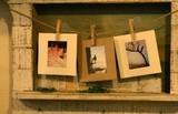 【ペーパーフォトフレーム】 Sサイズ 【紙製】写真をデコレーションできるフォトフレーム!
