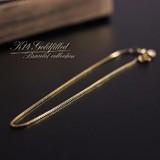 Gold Bracelet Venetian Chain