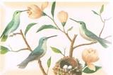 FRINGE STUDIO ミディアムトレイ <鳥×フラワー>