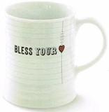 FRINGE STUDIO  マグカップ <ハート・BLESS YOUR HEART>