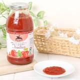 【アルチェネロ】有機カットトマト&バジル入りソース 500g【オーガニック】