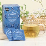【パッカハーブス】ナイトタイム 有機ハーブティー(カフェインフリー)【オーガニック】 紅茶